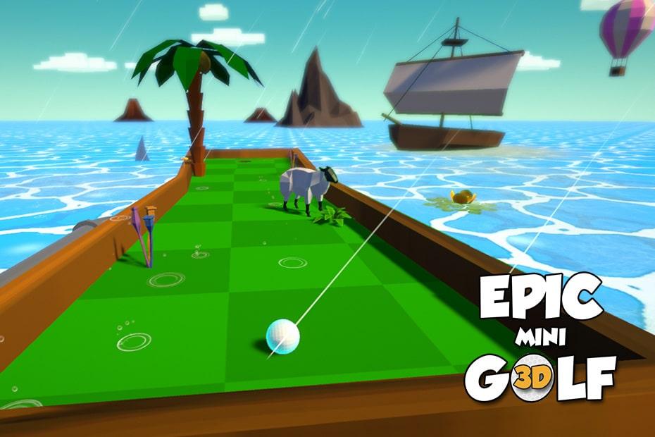 Jeu de golf 3d Unity