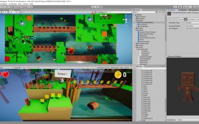 Développement d'un jeu 3d avec Unity et C#