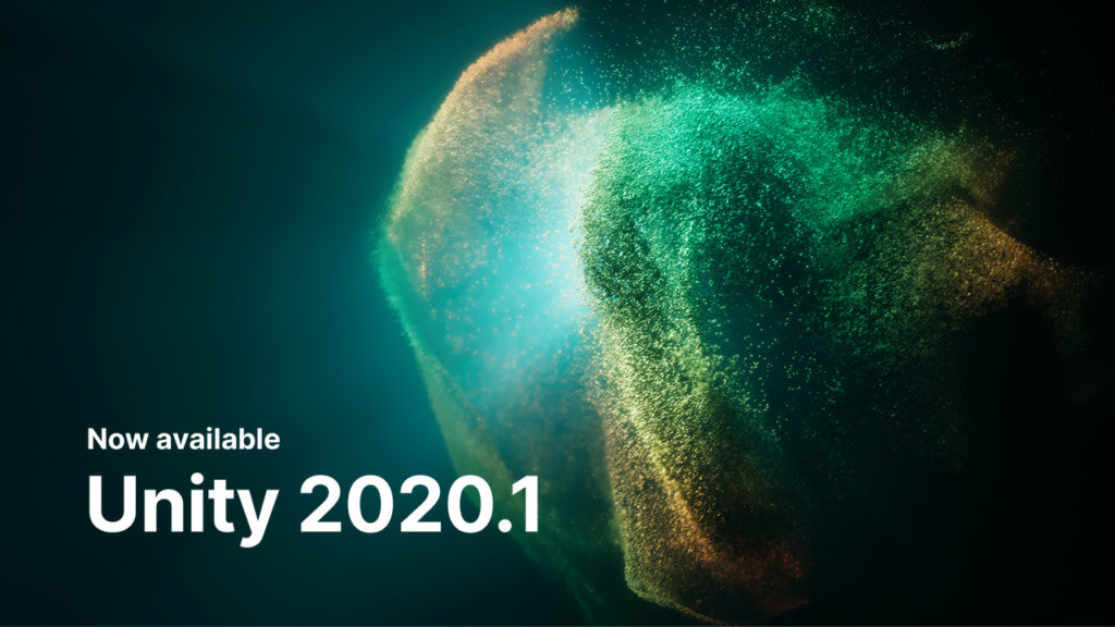 Image de Unity version 2020.1
