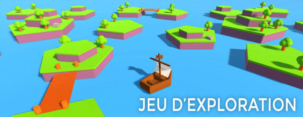 Jeu d'aventure/exploration 3D Unity