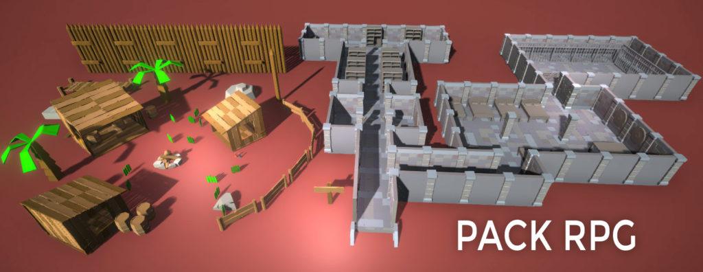 Package RPG 3D pour Unity